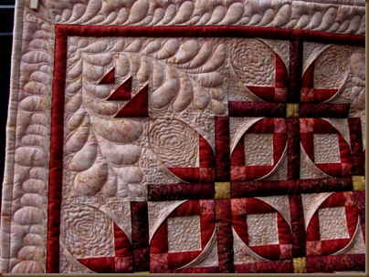 Mexican Star Quilt Detail