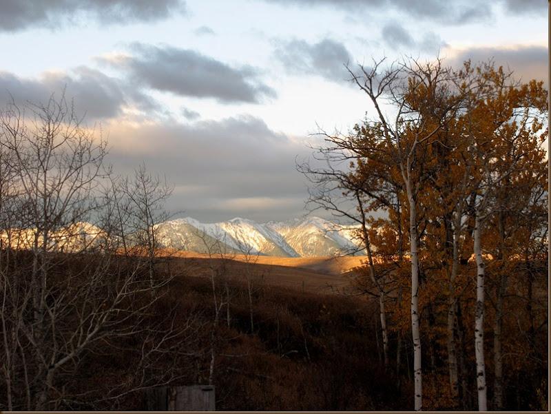 Sunrise on the West Boulder