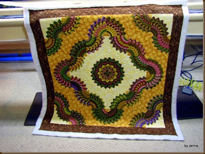 Caryl's Quilt Front