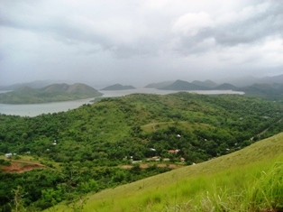 View from the top of Mount Tapyas, Coron, Palawan