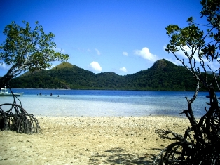 CYC Beach in Coron, Palawan