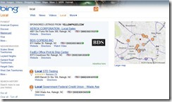 Bing's Idea of Local