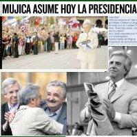 Mujica asume la Presidencia en Uruguay