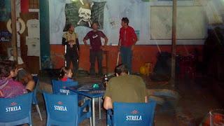 Zirkus im Club Nautico in Mindelo / Sao Vicente.