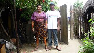 Zu Besuch bei Familie Green, Mulatupu.
