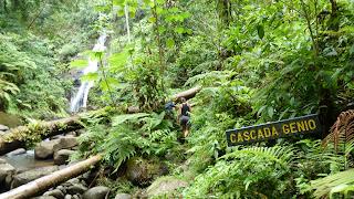 Wanderung zu Cascada Río Genio.