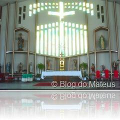 Catedral de Palhoça, Altar