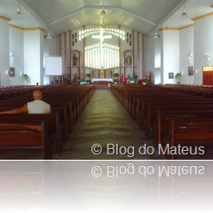 Catedral de Palhoça, Dentro
