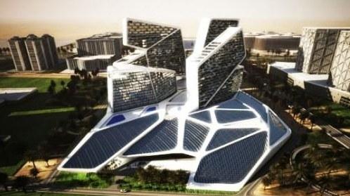 Multifunctional buildings