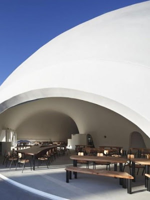Japanese Architecture - New restaurant near to mountain Fuji