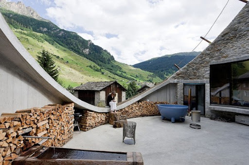 Unique House Concept  in Switzerland