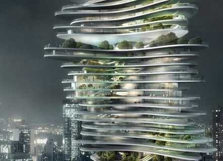 Crazy Architectural from Chinese