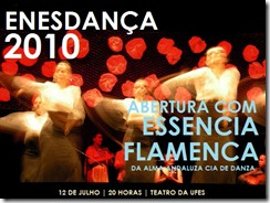 CARTAZ ENESDANÇA 2010