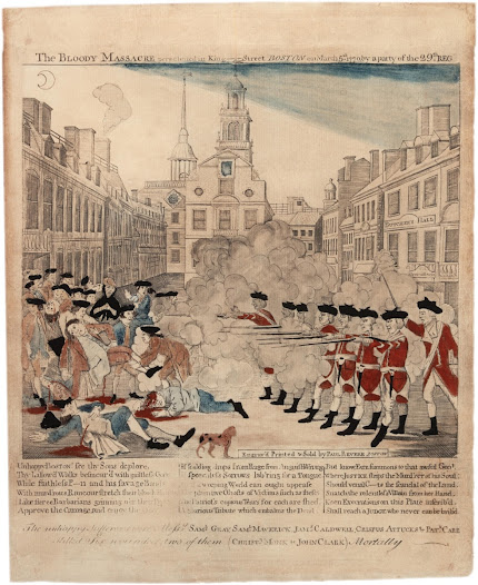 "When Hamilton arrived in New York, the thirteen colonies had been <a href=""http://www.gilderlehrman.org/history-by-era/road-revolution/resources/paul-revere%E2%80%99s-engraving-boston-massacre-1770"">protesting British</a> taxes and commercial regulations for years. New York City was a hotbed of contending political factions, pitting patriots against pro-British loyalists.  While still a student at King's College, Hamilton took up the patriots' cause, writing his first political article in 1774 (he signed himself ""A Friend to America"")."