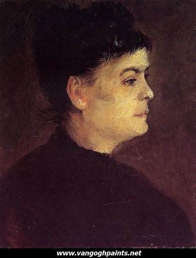 van gogh portrait woman. Portrait of a Woman Vincent