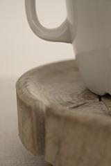 kopp på träfat