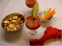 Cocktail drink di verdure