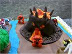 Torta Gormiti - Vulcano