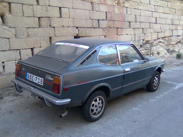 Fiat 128 sport coupe back