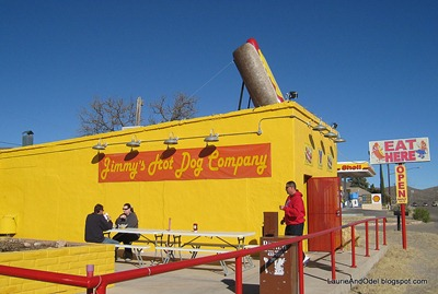 Jimmy's Hot Dog Company: you CAN'T miss it!