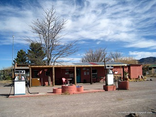 Gas and Groceries in Rodeo, NM