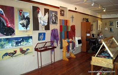 Inside the Chiricahua Gallery