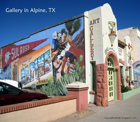 Art Gallery in Alpine, Texas