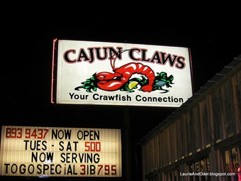 Cajun Claws Restaurant