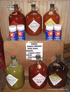 Gallons of Tabasco