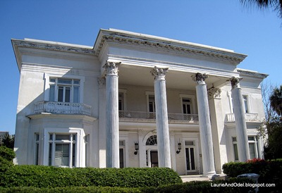 This home flooded to the top of the columns during Hurricane Hugo in 1989.