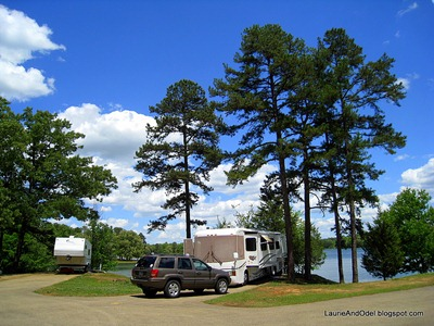 Site 36 in Eagle Ridge Campground