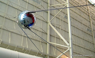 Sputnik, the first man-made object to orbit in space