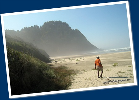 On the Beach near Heceta Head, Oregon