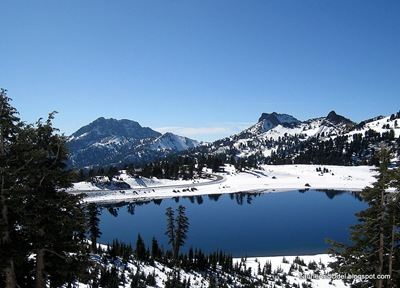 Lake Helen, near the summit of the road through Lassen.