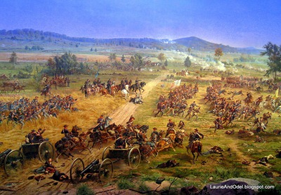 A scene from the Cyclorama.