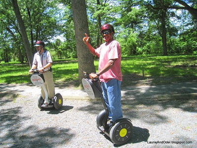 Odel masters his Segway