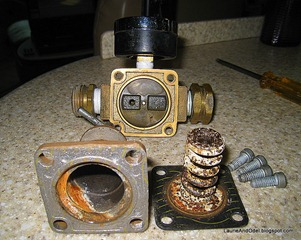 Corroded regulator