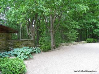 Zen driveway area