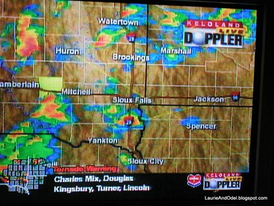 Doppler Radar on the Weather Channel on 6/24/2003.