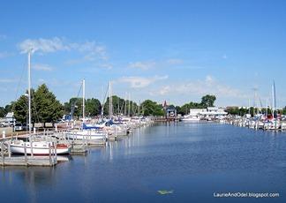 Alpena's city marina