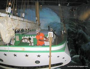Odel on sinking ship