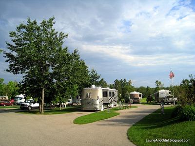 Campsites at Thunder Bay Resort