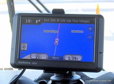 GPS across the bridge