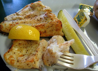 Broiled Whitefish Dinner
