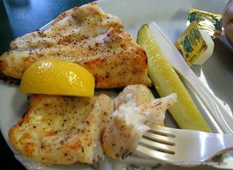 Broiled Whitefish Dinner