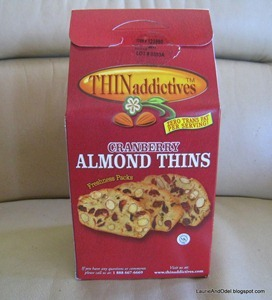 Cranberry Almond Thins