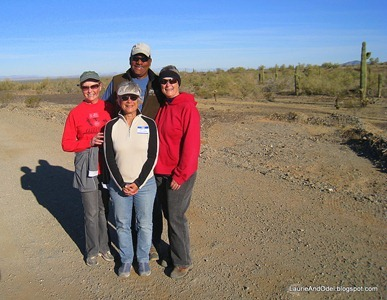 Beth, Sally, Odel, Laurie
