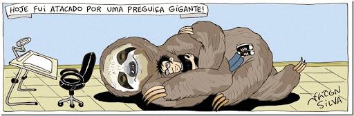 preguiça gigante rgb
