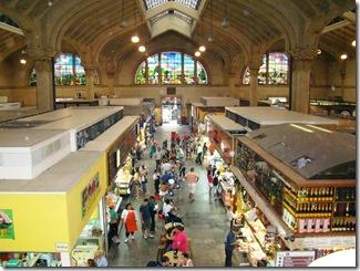 mercado visto de cima