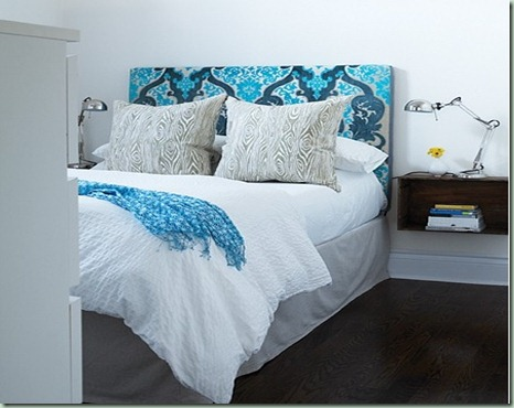 Headboard from House and Home Canada